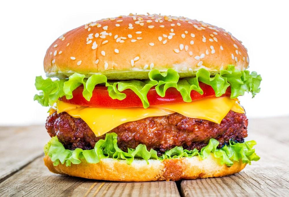 Hinh anh: Mot chiec banh Sandwich Hamburger