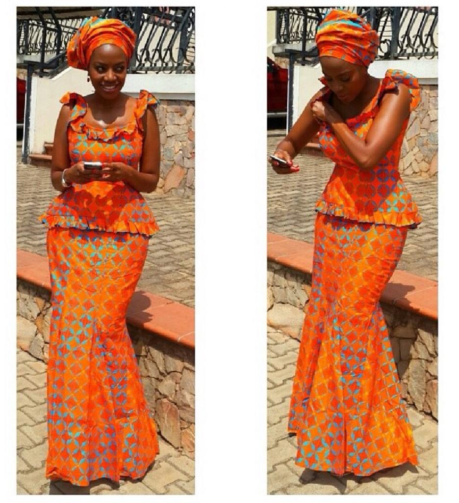 Mishono Ya Vitenge Nigeria 2017 Traditional Styles Art