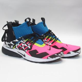 Nike X Acronym Air Presto Mid 'Racer Pink' Sneakers