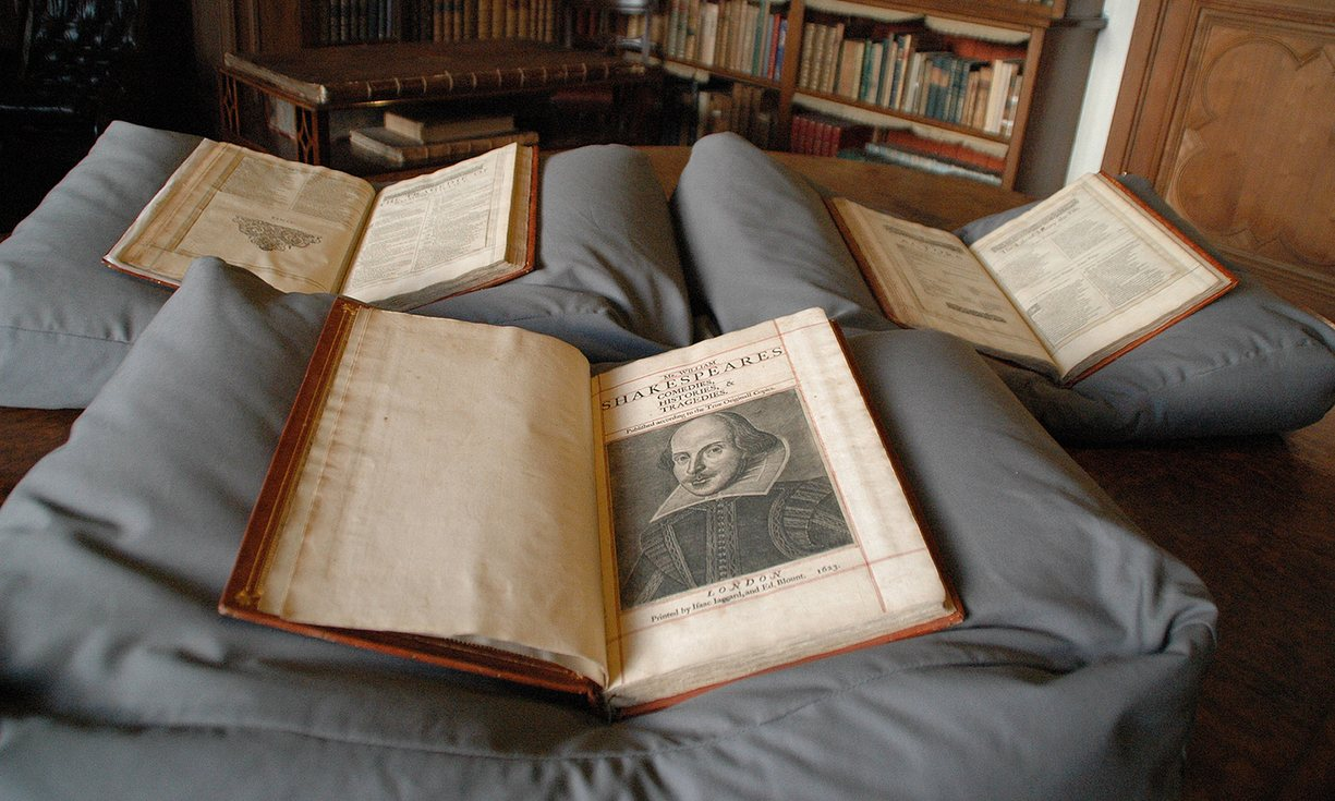 UK: Shakespeare First Folio found on Scottish island