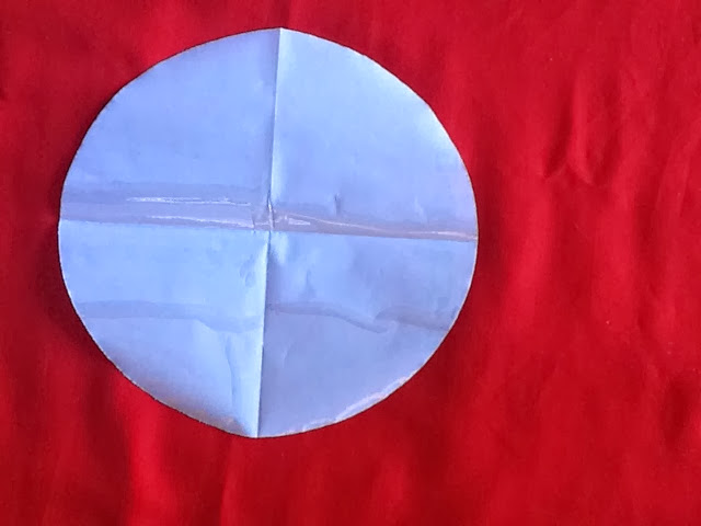 how to cut a perfect circle in plastic