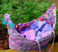 Doll Boat or Moses Basket Bed - 4 sizes