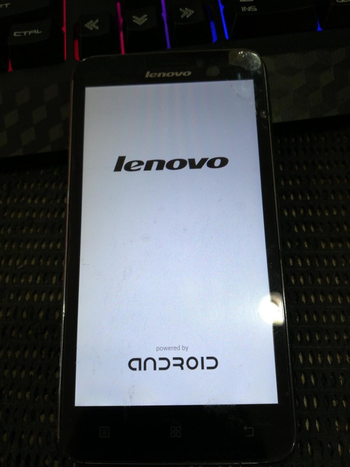 Lenovo a606 stuck logo