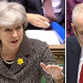 'Just calm down!' Theresa May's BRILLIANT response to SILENCE groaning Labour MPs at PMQs