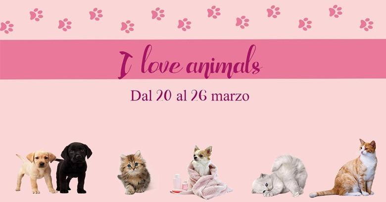 I love animals banner