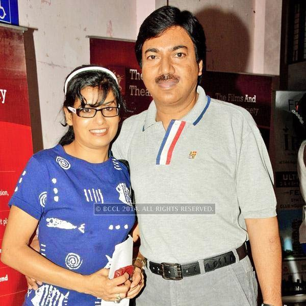 Archna and Tarun Raj during the Lucknow Theatre Festival which was organised in the city from July 17.