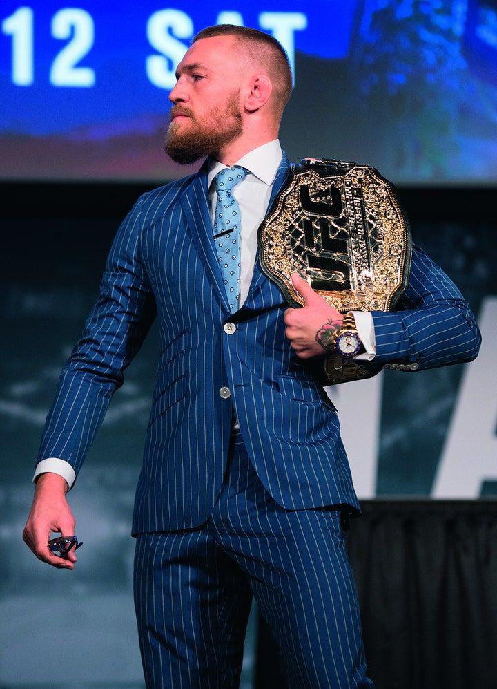 1). Conor McGregor —  Martial Arts & Boxing 🥋🥊