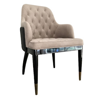Contemporary Tufted Armchair
