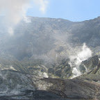 auf der Vulkaninsel White Island