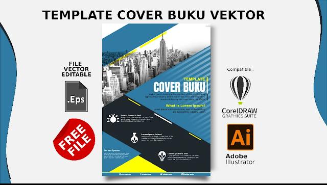 Free File Cover : Download Desain Cover Buku Comptible Coreldraw & Illustrator