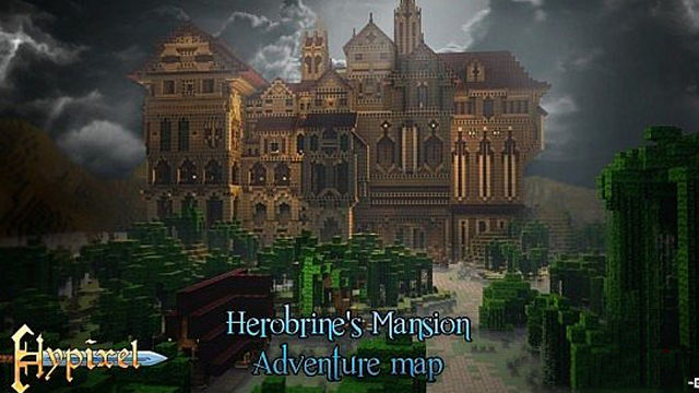 Herobrine's Mansion (Adventure Map) - Mansão do Herobrine