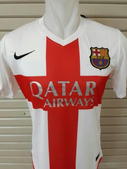 Jual Jersey Barcelona 3rd 2015 Leaked
