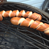 roasting the curly dogs