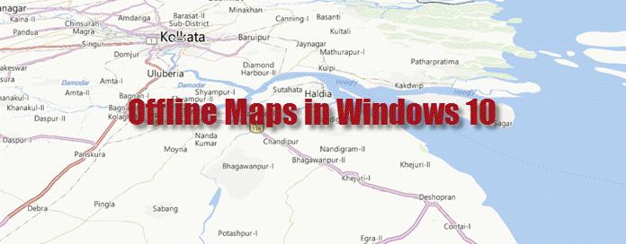 How to download offline maps in #Windows 10? | Kunal Chowdhury