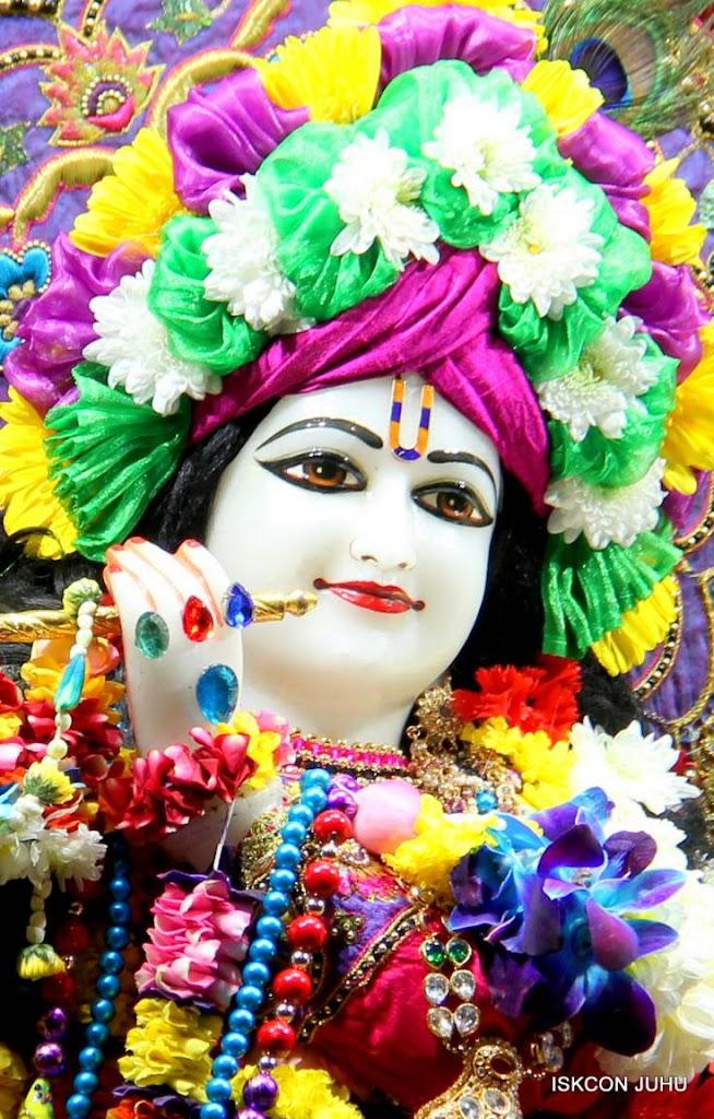 ISKCON Juhu Sringar Deity Darshan 29 Jan 2016 (13)
