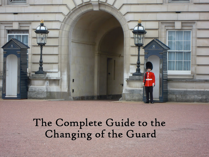 Buckingham Palace foot guard - from The Complete Guide to the Changing of the Guard