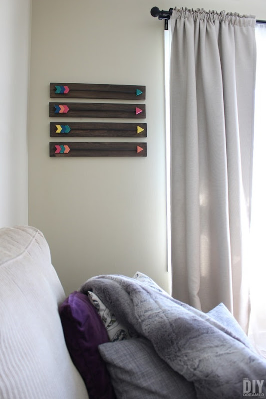 DIY-Arrow-Wall-Art