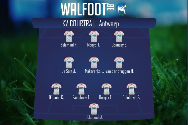 KV Courtrai (KV Courtrai - Antwerp)