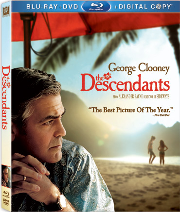 Win THE DESCENDANTS on Blu-ray/DVD