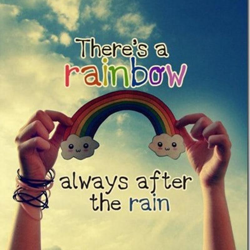 Month 30 (1st half): My rainbow after my rain