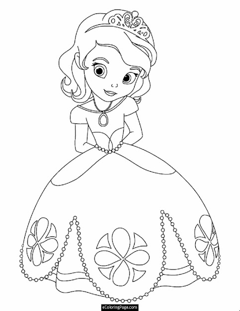 Printable Disney Coloring Pages   Page Disney James From Sofia The  First Printable
