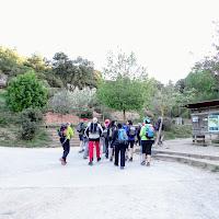 Travessa del massís de Montserrat