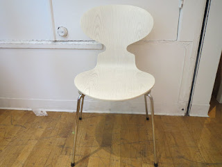 Fritz Hansen Ant Chair in White