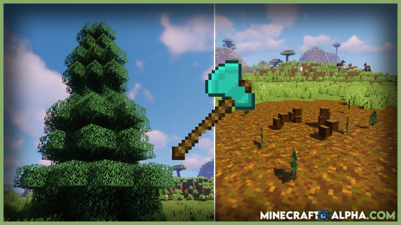Falling Tree Mod 1.16.4
