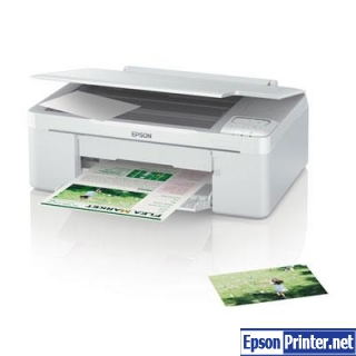 How to reset Epson ME-340 printer