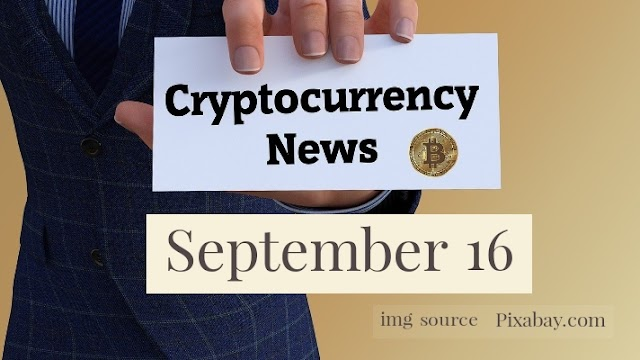 Cryptocurrency News Cast For September 16th 2020 ?