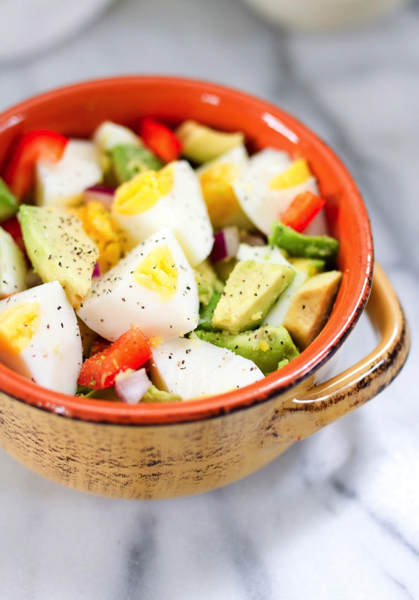 Egg and Avacado Salad