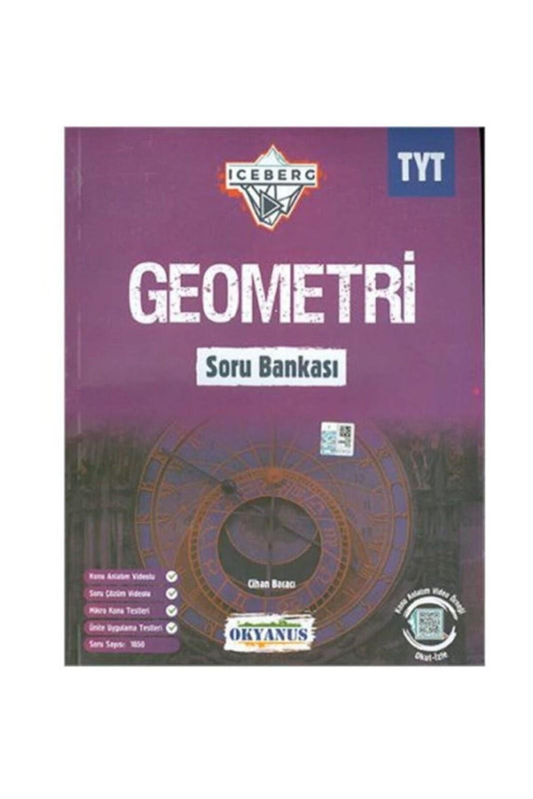 Okyanus Yayınları - TYT Geometri - İceberg Soru Bankası