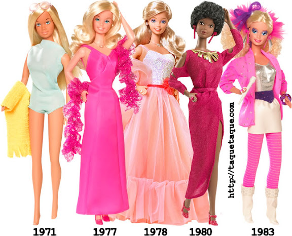 Barbies de los '70 y '80