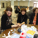 Spotkanie medyczne z Dr. Elizabeth Mikrut przy kawie i pączkach. Zdjęcia B. Kołodyński - SDC13603.JPG