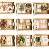 Montessori Inspired Autumn Themed Learning Activities