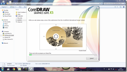 Install CorelDRAW Graphics Suite X5 - 8