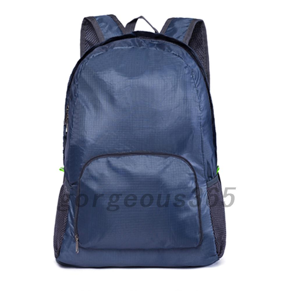 New-Nylon-Backpack-Unisex-Travel-Camping-Hiking-Bag-Folding-Waterproof-Bag