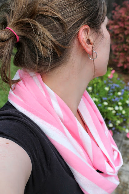 easy infinity scarf by dandelions and lace