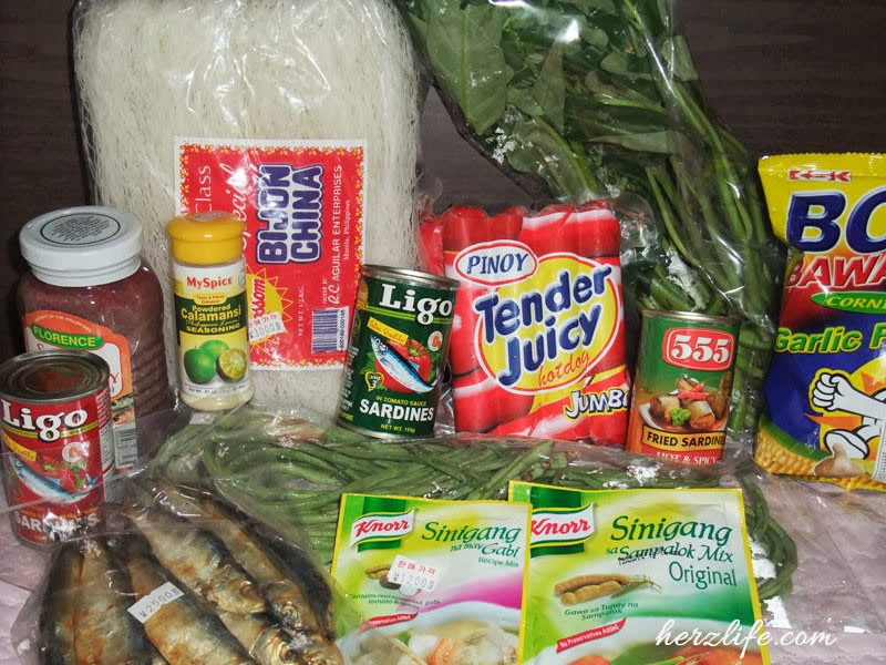 Filipino Food in Icheon