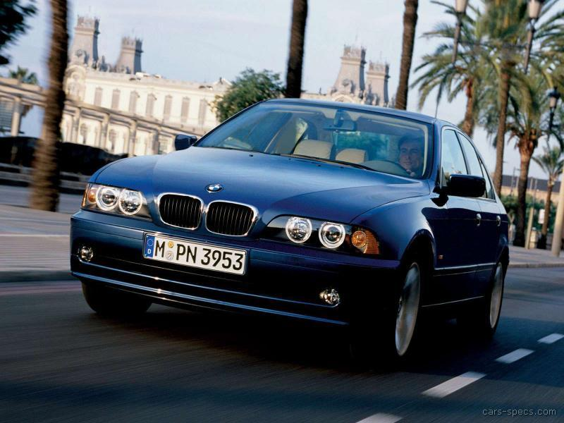 2003 BMW 5 Series Sedan Specifications Pictures Prices
