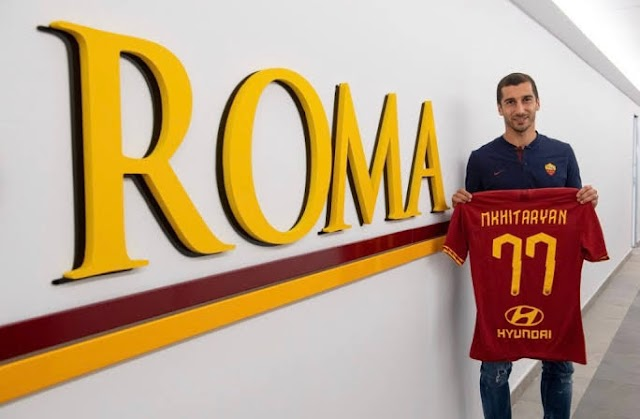 Transfer Updates: Mkhitaryan Terminates Arsenal Contract To Secure Permanent Switch To Roma