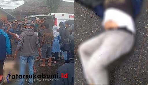Laka lantas maut di Cicurug Sukabumi