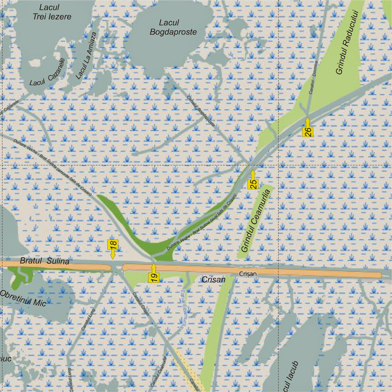 Delta de Nord - Intrarea 19