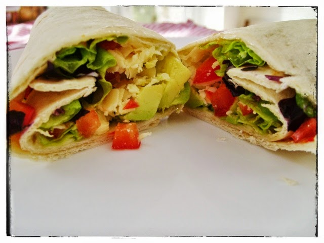 CHEESE & AVOCADO POWER WRAP, mean mother cooker
