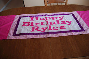 Rylee's 3rd birthday party