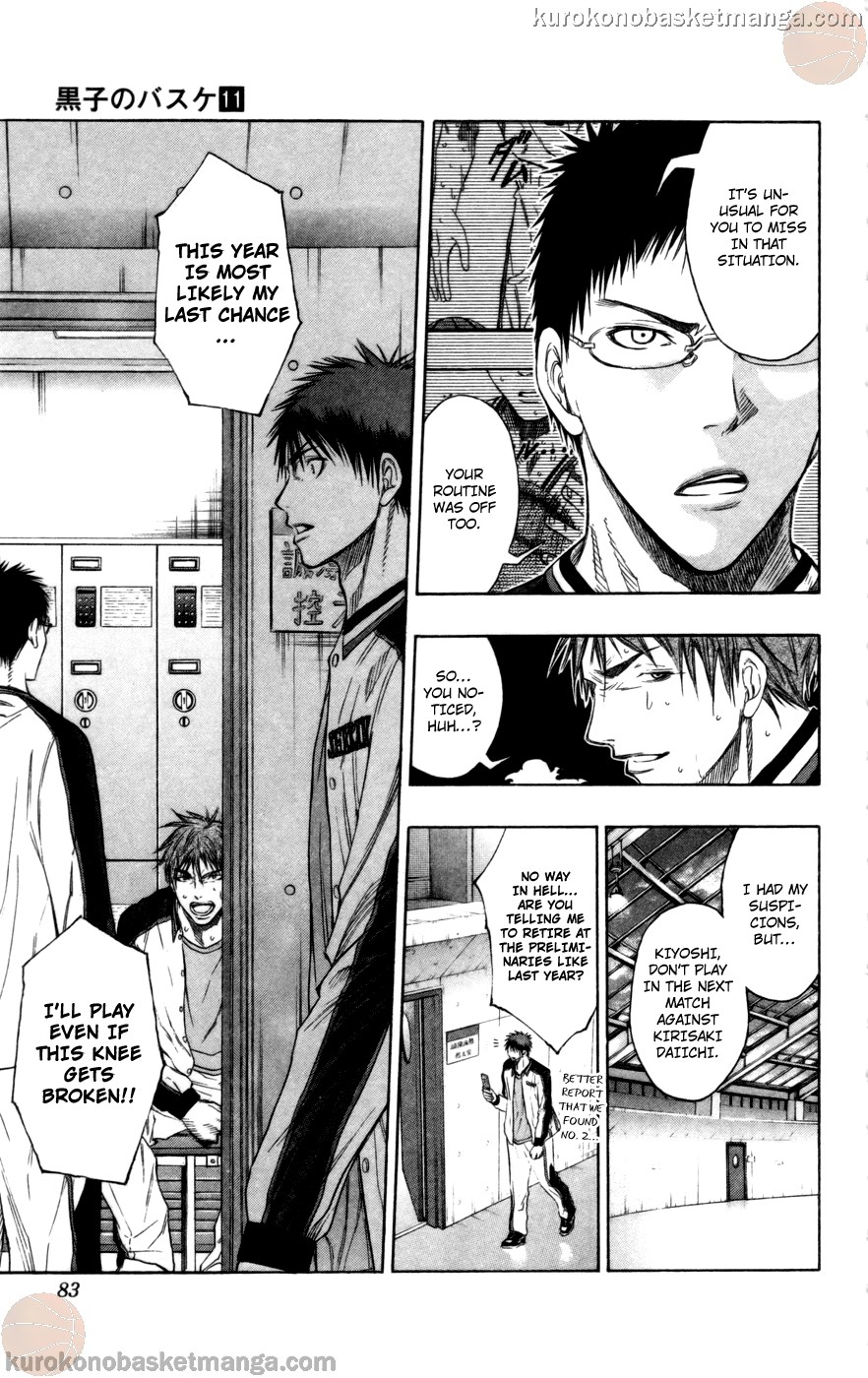 Kuroko no Basket Manga Chapter 93 - Image 19