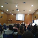 2018-03-09 Els alumnes de CAI participen a la Taula rodona sobre les agressions sexuals de Gavà