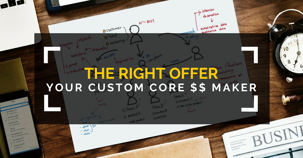 The Right Offer - Your Custom Core Money Maker