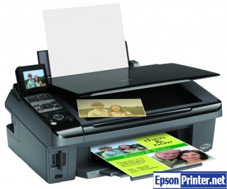 How to reset Epson CX8400 printer