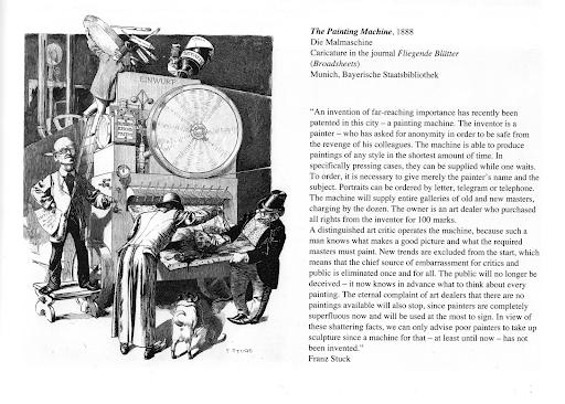 The Painting Machine (Die Malmaschine), 1888 by Franz von Stuck